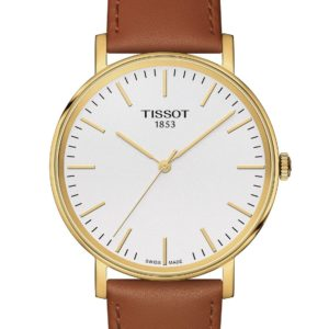 Tissot T109.410.36.031.00 Armbanduhr Everytime Quarz Herrenuhr Herrenuhren