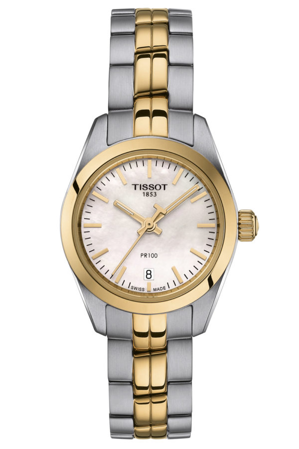 Tissot Damen-Armbanduhr PR 100 Lady Small T101.010.22.111.00 Damenuhren